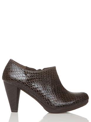 Rizzo Zapatos Pala Mitad (Marrón)