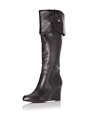 Adrienne Vittadini Footwear Women's Mac Knee-High Boot (Black Nappa)