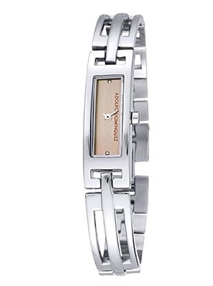 Adolfo Dominguez Watches 69022 - Reloj de Señora cuarzo brazalete metálico dial Ocre