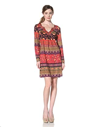 Hale Bob Women's Beaded Neck Dress