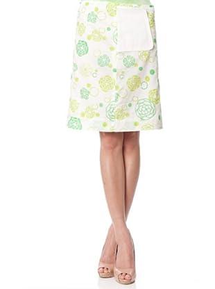 Custo Falda Munty (Verde / Blanco)