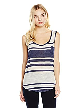 7 For All Mankind Top Mismatch Stripe
