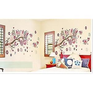 Bohemia Tree themed wall sticker AY909