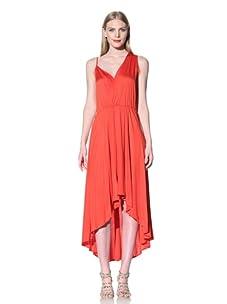 Rebecca Minkoff Women's Long Delhia Dress (Clambake)