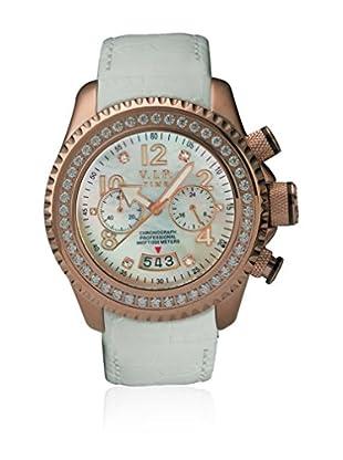 Vip Time Italy Uhr mit Japanischem Quarzuhrwerk VP8002RG_RG weiß 50.00  mm