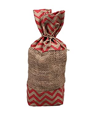 Jodhpuri 12-Oz. Apple Cinnamon Potpourri in Jute Bag, Red