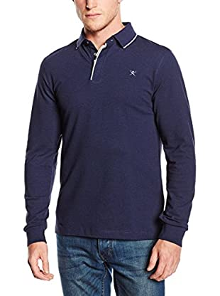 Hackett London Polo Marl Detail Pl