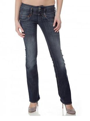 Herrlicher Jeans Pitch Denim Stretch regular fit (Mittelblau)