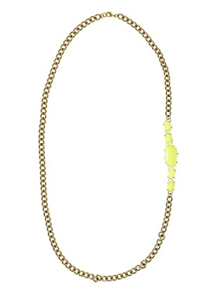 Anna Biblò Neon Sautoir Stones giallo
