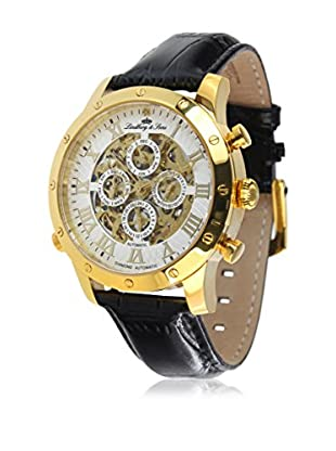 Lindberg & Sons Automatikuhr Automatic Watch With Skeleton Dial 38 mm