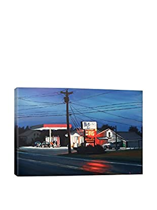 Hillary White Gallery B&M Market Wrapped Canvas Print