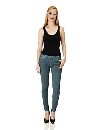 7 for all Mankind Cordhose Skinny Fit (Grau)