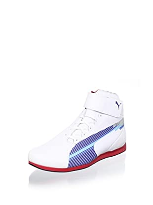 Puma Men's Evospeed F1 Mid Sneaker (White-Limoges-Ribbon)