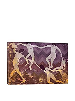 Dance IV Gallery Wrapped Canvas Print
