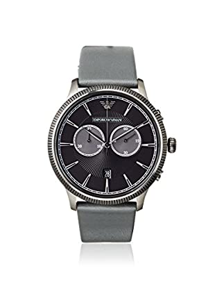 Emporio Armani Men's AR1794 Grey/Black Leather Watch