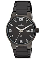 Maxima Attivo Collection Analog Black Dial Men's Watch - 38401CMGB