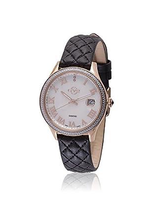 GV2 by Gevril Women's 1803 Asti Analog Display Swiss Quartz Black Watch