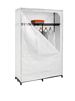 Honey-Can-Do Portable Clothing Storage Closet with Top Shelf