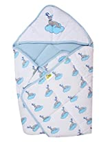 Beebop Hooded Baby Blue Wrapper