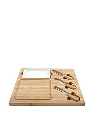 Core Bamboo Square Cheese Entertainment Set