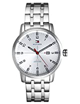 Tommy Hilfiger Analog Silver Dial Mens Watch - TH1710327/D