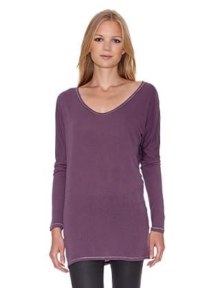 Mila Brant Camiseta Zina (Púrpura)