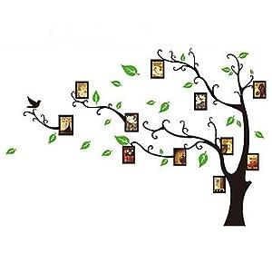 Trees with photo frames wallsticker AY803B