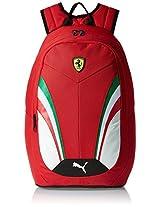 Puma Ferrari 18.5 Ltrs Rosso Corsa Casual Backpack (7395201)