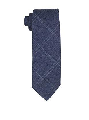 Desanto Men's Squares Scozia Tie, Blue