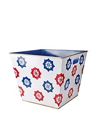 Malabar Bay Ahoy Storage Bin, Red