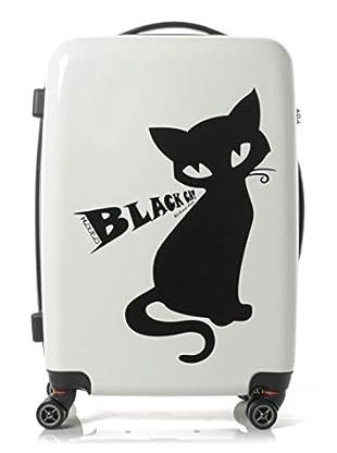 H.Due.O Trolley Nero Cat Bianco