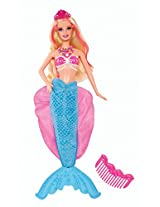 Barbie the Pearl Princess 2-in-1 Transforming Mermaid Doll, Multi Color
