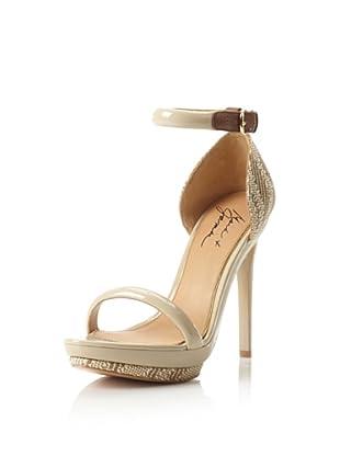 Mark + James Women's Ritchie Platform Sandal (Vanilla/Brown)