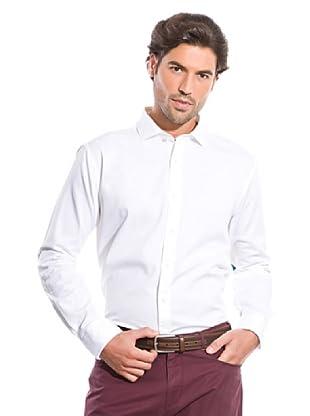 Cortefiel Camisa Canutillo (Blanco)