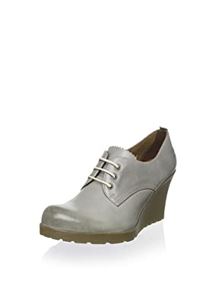 Dr. Martens Women's Mimi Lace-Up Wedge (Grey)