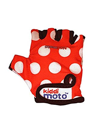 Kiddimoto Handschuhe Sport Red Dotty