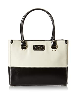 Kate Spade Women's Quinn Berkeley Lane Satchel, Porcelain