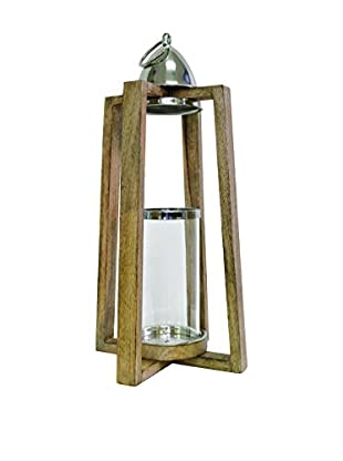 Couture Ponte Vedra Lantern, Natural Horn/Black