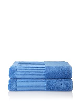 Garnier-Thiebaut Set of 2 Bath Sheets (Lagon)