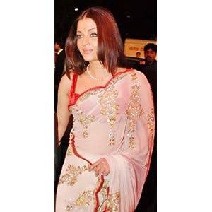 Aishwarya rai in manish malhotra's designer saree
