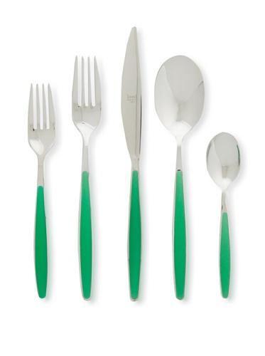 Mepra 20-Piece Caramella Cutlery Set (Menta)