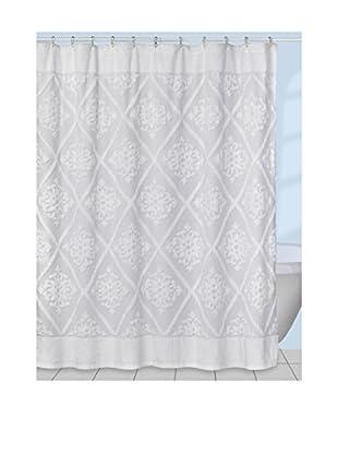 Creative Bath Belle Shower Curtain, White