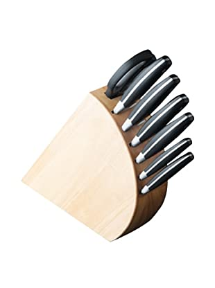 BergHOFF 8-Piece Forged Knife Block Set (Black)