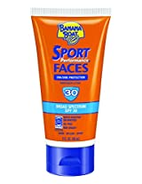 Banana Boat Sport Faces Sunscreen Lotion Spf 30, 3 Ounce