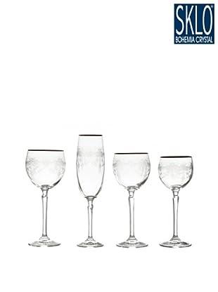 Cristal de Bohemia Cristalería 48 Piezas Giralda