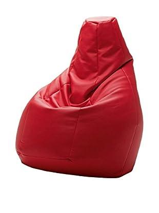 ZANOTTA Puff Grande Sacco Rojo