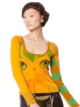Custo Camiseta Om Aab (Mostaza)