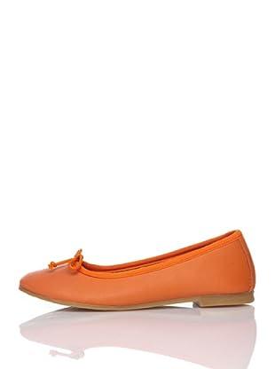 Billowy Bailarinas Lazo (Naranja)