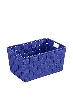 Wenko Aufbewahrungskorb 2er Set blau
