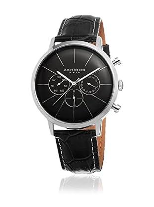 Akribos XXIV Reloj con movimiento cuarzo suizo Man Plateado 42 mm